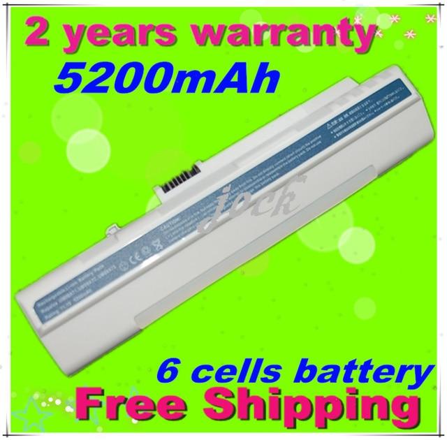 JIGU 4400 мАч 11.1 В аккумулятор для ноутбука acer UM08A31 UM08A71 UM08A72 UM08A73 UM08B74 Aspire One 571 A110 A150 ZG5 6 клетки