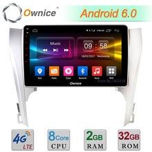 "C500 + 10.1 ""Android 6.0 Octa Core 2 GB RAM 32 GB ROM 4G LTE WIFI DAB + Radio Del Coche DVD Multimedia Player Para Toyota Camry 2012 2013"