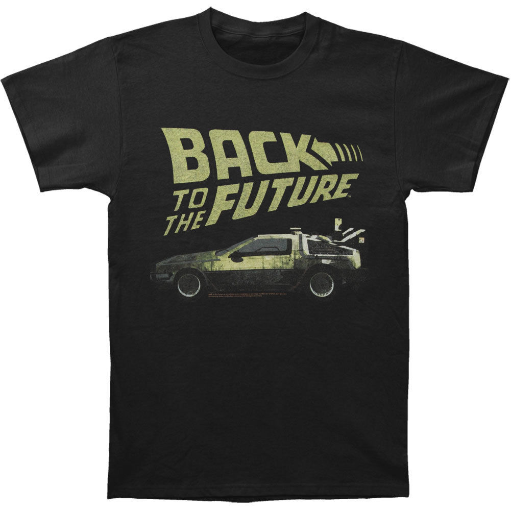 Back To The Future MenS Btf T Shirt Black