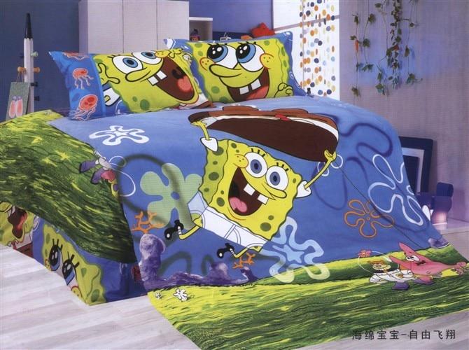 popular spongebob comforter set-buy cheap spongebob comforter set