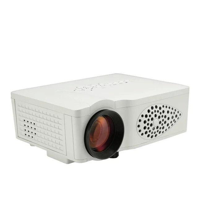 Новый 2016 из светодиодов мини видео 1080 P 3D домашний кинотеатр жк-проектор Full HD Proyector жк-hdmi VGA AV SD USB