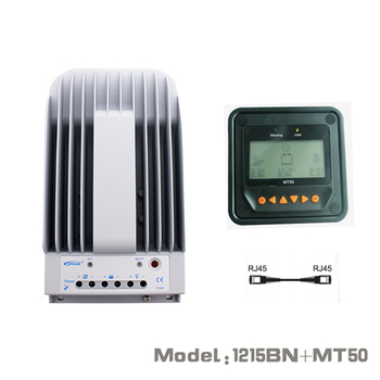 10A 12V 24V New Tracer 1215BN 10 amps Programmable MPPT Solar Charge Controller with MT50 LCD display Remote meter WY 1