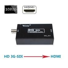 Wiistar SDI конвертер SDI в HDMI аудио-видео конвертер BNC в HDMI адаптер Поддержка HD 3g SDI Full HD 1080 P высокое качество