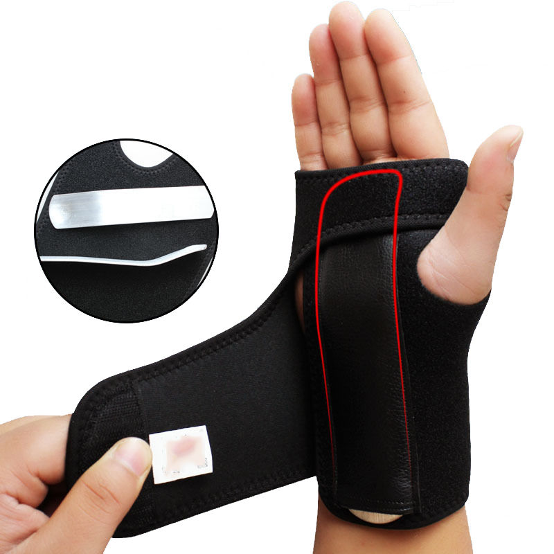 1PC Wrist Palm Brace Support Weight Lifting Relief Strap Wrap Guard Protector