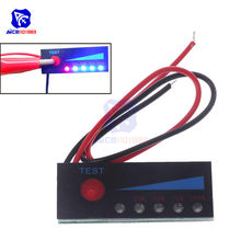 1 s 2 s 3 s 4S 5S 6 s 7 s 4.2 v-29.4 v indicador de capacidade da bateria de lítio placa de exibição de energia da bateria testador li-po li-ion pacote led