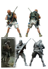 1:35 scale resin model kit resin figure model soldier D0090(China)
