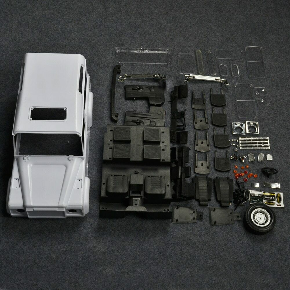 ARC0021 Hard Plastic 1 10 RC Car Body Shell D90 Defender RC Crawler Bodies for RC4WD
