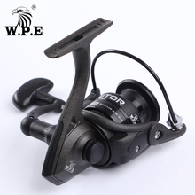 W.P.E AMBITOR Spinning Fishing Reel 9+1 Ball Bearings 2000-5000 Series 5.1:1 High Speed Left and Right Handle Interchangeable