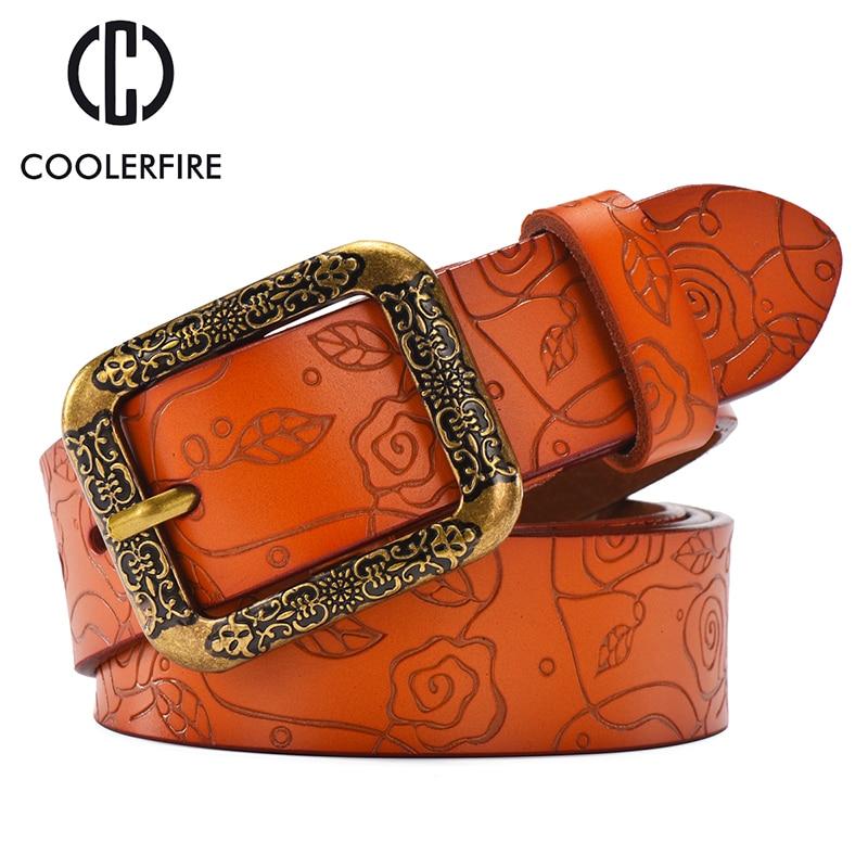 CCOOLERFIRE leather belts strap