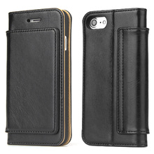 hot deal buy fierre shann luxury wallet pu leather phone case for iphone 7 8 flip cases with stand cover for iphone 7 plus 8 plus cover case