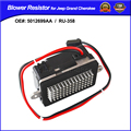 5012699AA, 05012699AA, RU358, RU-358 5012699AA Fit for JEEP GRAND CHEROKEE 1999-2004 BLOWER MOTOR CONTROL MODULE RESISTOR