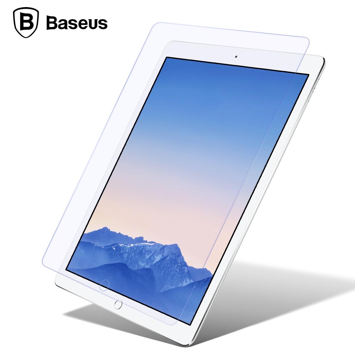 imágenes para De Baseus Pantalla Protector de Vidrio Templado Para iPad Pro 9.7 iPad Aire 2 1 Ultra Thin Templado Película De Vidrio Para el ipad 6 5 Cubierta Frontal