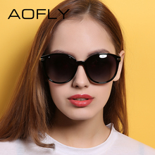 AOFLY With Case Fashion Lady Sun glasses New Polarized Women Sunglasses Vintage Alloy Frame Classic Brand Designer Sunglasses