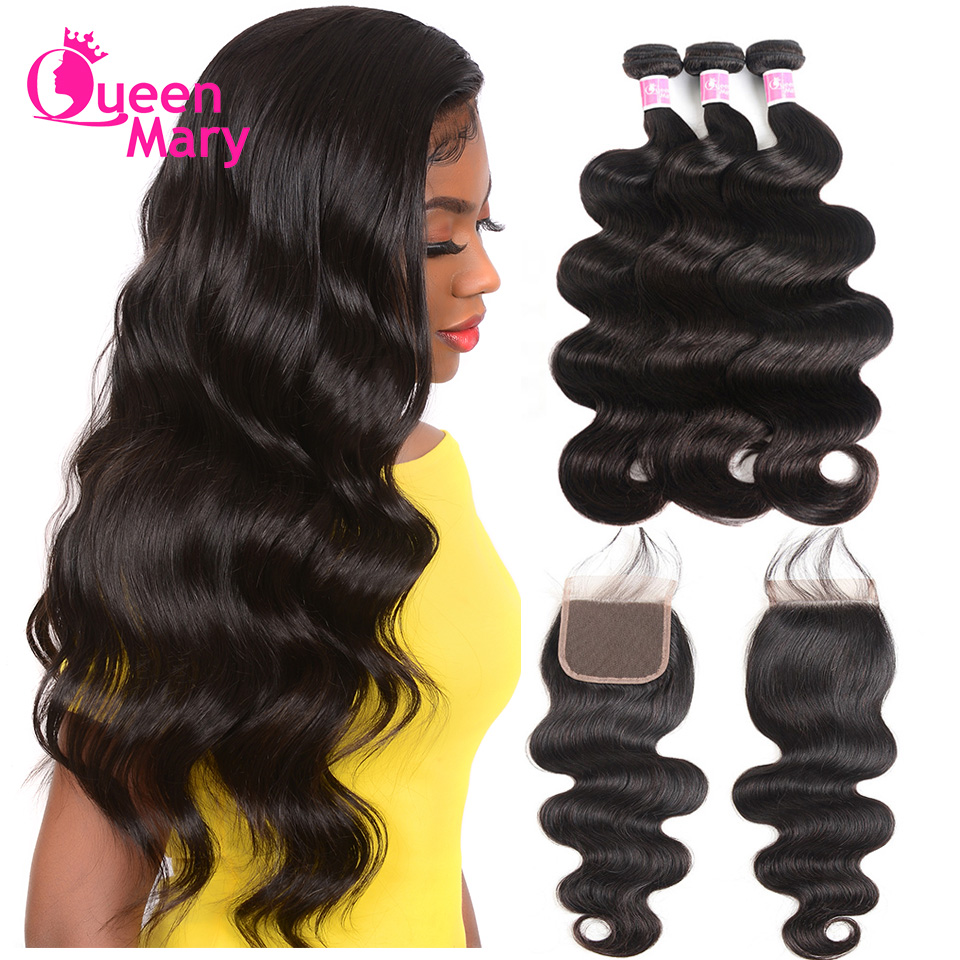 Hair Extensions & Wigs Honey Blonde Bundles With Closure 3 4 613 Body Wave Brazilian 100% Human Hair Iwish Remy Hair Blonde Weave