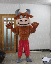 muscle bull mascot costume halloween costumes party dinosaurs fancy dress christmas gift