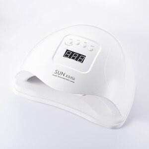Image 3 - 80W SUN X5 PLUS UV Lamp Professional LED โคมไฟเล็บคู่เล็บอินฟราเรด Auto SENSOR การบ่มเจลเล็บ