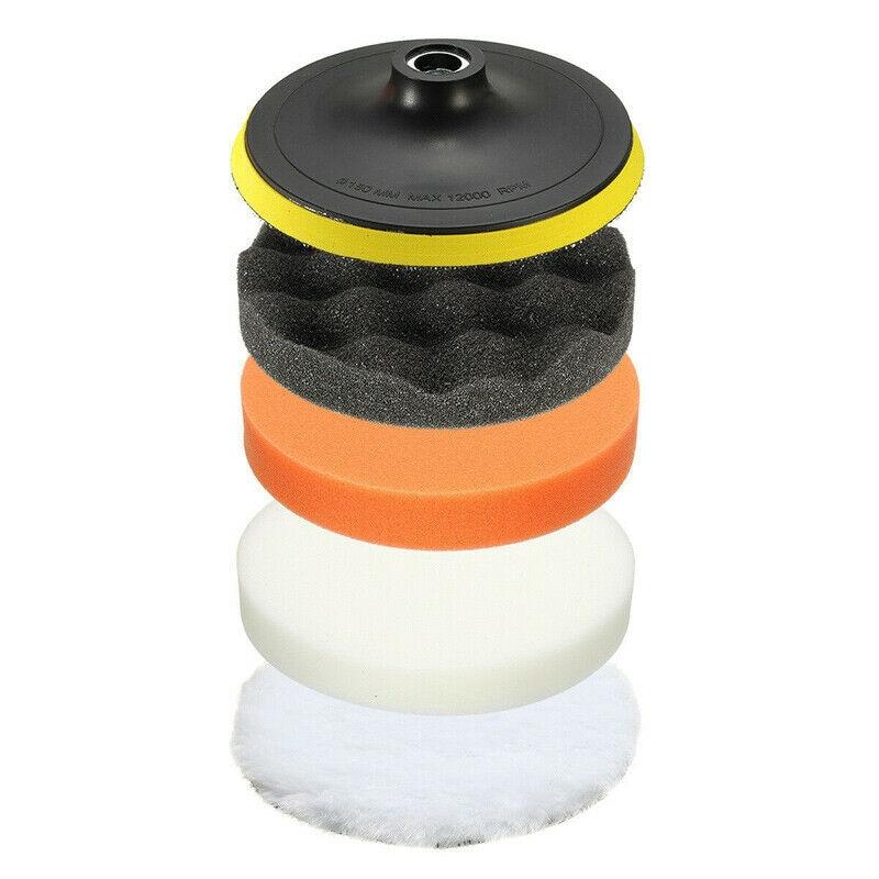 18Pcs/Set Waxing Polishing Sponge Buffers Pads Wheel Adapter Car Polishers Tools18Pcs/Set Waxing Polishing Sponge Buffers Pads Wheel Adapter Car Polishers Tools