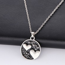 Lovers Fashion 1 Piece Chain Clavicle Necklace Double Love Sister Tree Pendant Necklace For Women Men Jewelry Gift dual band wireless ac 3160 wifi bluetooth intel 3160ngw 802 11ac wifi bt 4 0 card ngff wlan adapter fru 04x6034 for lenovo ibm