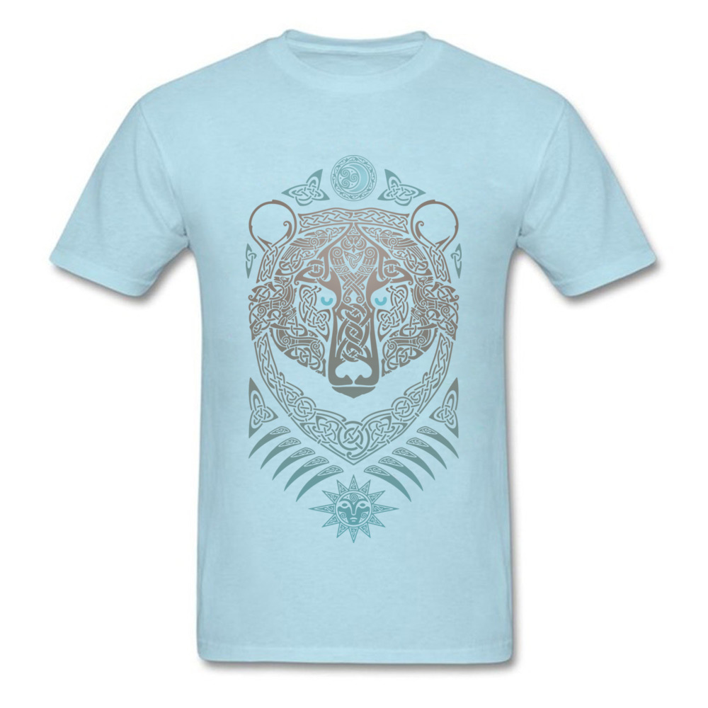 FOREST LORD Printed On Thanksgiving Day Pure Cotton Crew Neck Mens Tops & Tees Summer T-shirts 2018 Short Sleeve Top T-shirts FOREST LORD light