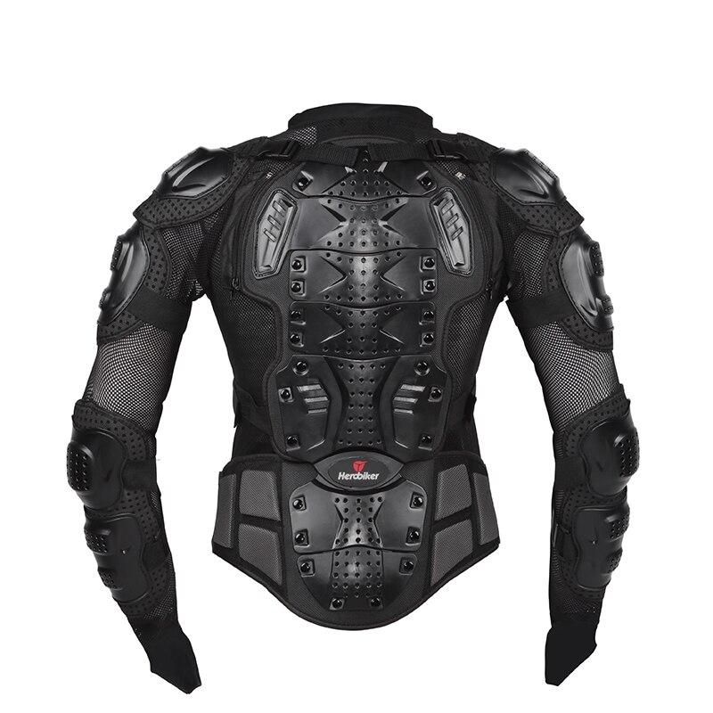 HEROBIKER moto veste hommes corps complet moto armure Motocross course équipement de Protection moto Protection taille S-5XL # - 3