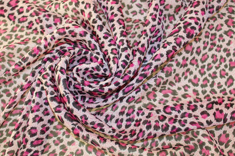 150cm Width Printed Chiffon Fabric Leopard Print Pink Ch9148 In From Home Garden On Aliexpress Alibaba Group