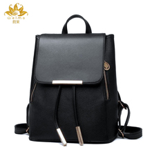 Мы больше модные женские туфли рюкзак Повседневное бренд Дизайн рюкзак искусственная кожа Рюкзаки Стиль сумка crossbodybag softback Sac