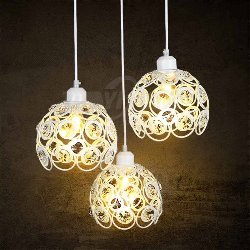 Modern Luxury Crystal Pendant Lighting For Kitchen Island