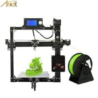 Anet A2 3D Printer Aluminium Metal DIY 3D Printer Kit LCD12864 220 220 270mm Three Dimensions