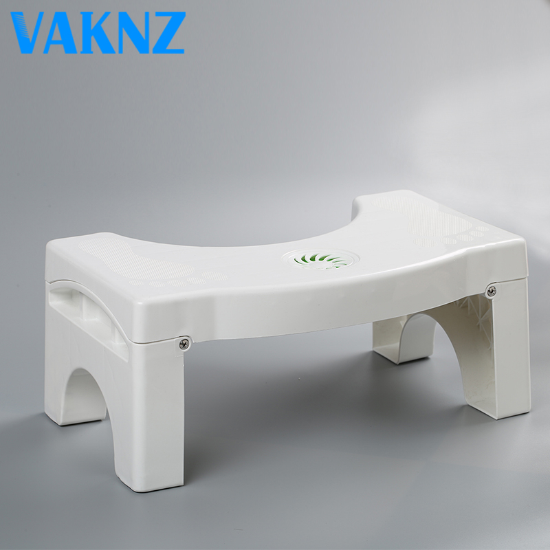 Bathroom Folding Portable Stool Toilet Stool Step Footstool accept Drop Shipping
