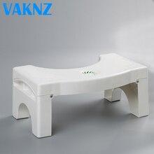 Oryginalne Vaknz łazienka składany przenośny stołek wc stołek krok podnóżek
