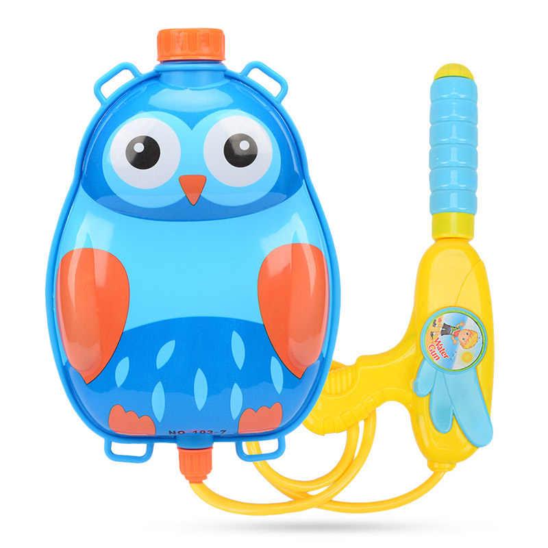 Armas de Pressão pistola de Água Mochila Brinquedo Pistola de Água de verão Da Menina do Menino Do Bebê Que Joga Água Ao Ar Livre Brinquedos de Praia para Crianças