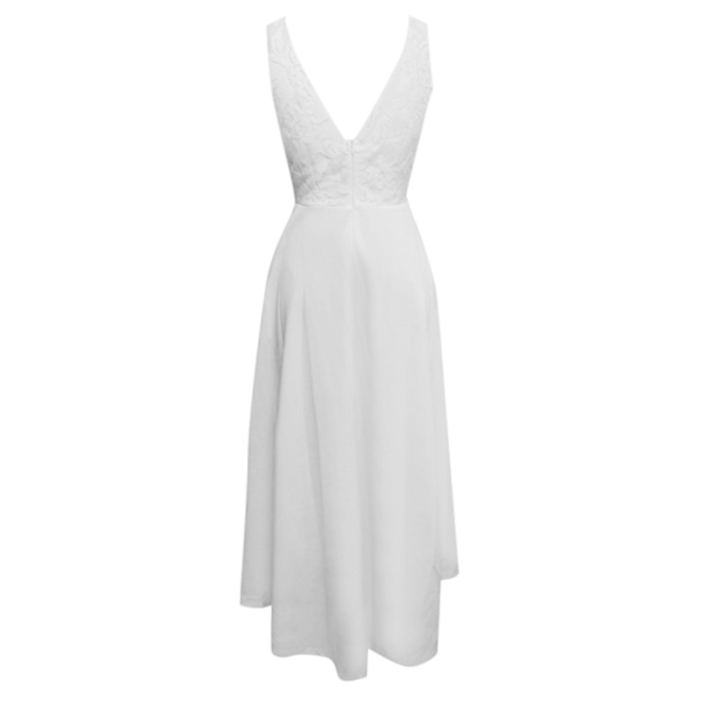 Boho Белый кружевной пэчворк выдалбливают платье пикантные повседневное Вечеринка женское летние туфли с ремешками платья для женщин Vestidos # ...