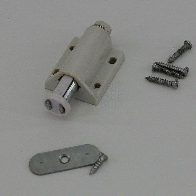 US $7.87 |6 stück magnetverschluss latch drücken öffnen schrank magnet  glastür drehgelenk platte in 6 stück magnetverschluss latch drücken ...