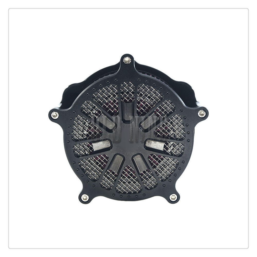 Air Cleaner Filter Intake For Softail Dyna Glide 93-17 EFI FXDI