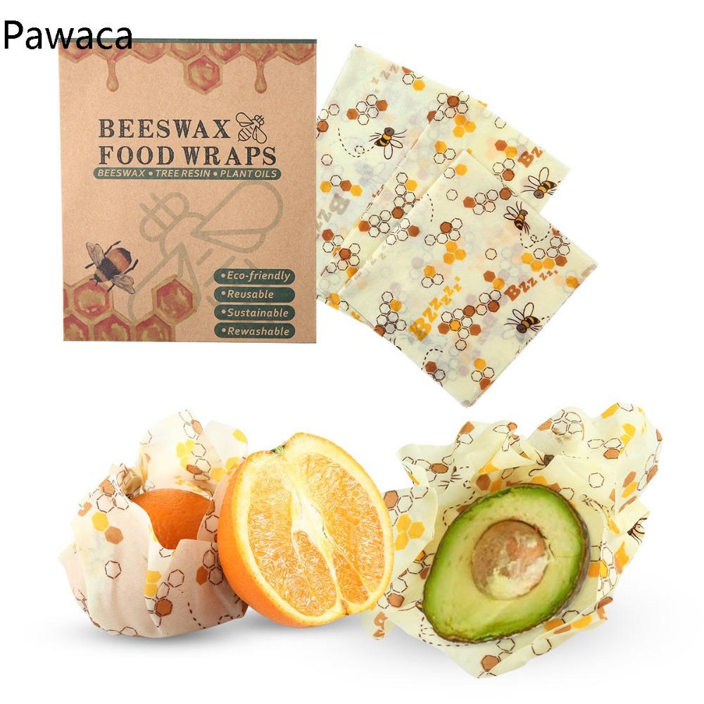 Reutilizable envoltura de alimento de cera de abejas 1