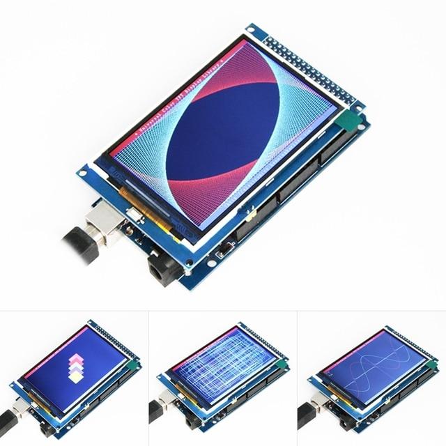 Free shipping! 3.5 inch TFT LCD screen module Ultra HD 320X480 for Arduino MEGA 2560 R3 Board 1