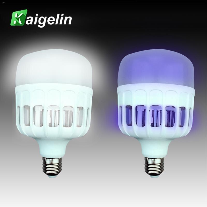 Electric Mosquito Killer Lamp Bulb E27 LED Bug Zapper mosquito lure trap lamp LED/UV LED Lamp Bead 2835 220V