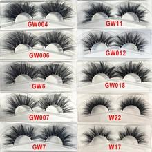 10 Styles 20mm Mink Eyelashes Handmade 3d Mink Lashes Natural False Eyelashes Faux Cils Fake Eyelashes Eye Lashes Fake Lashes