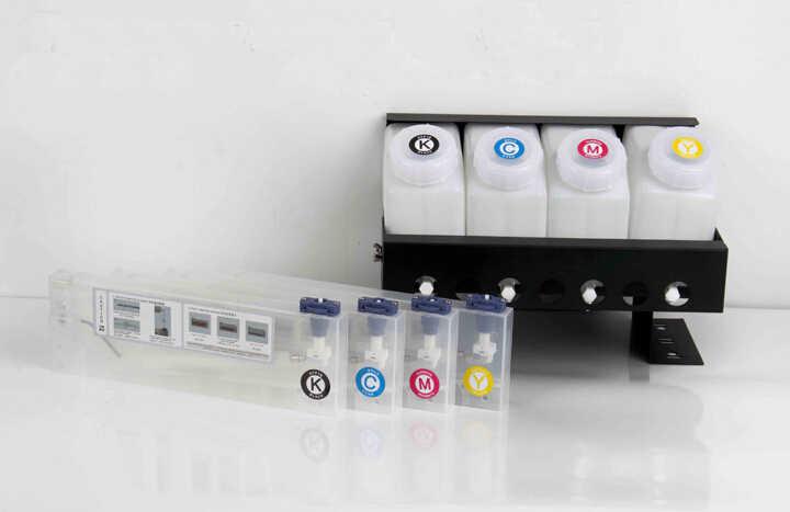 4 warna CISS/sistem tinta massal untuk MIMAKI JV33 printer Roland Mutoh VJ 1604 4 tank + 4 kartrid
