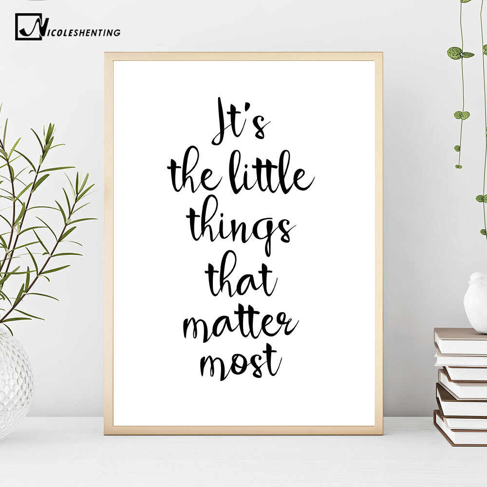 Inspirational Simple Quotes Motivational Poster Prints ...