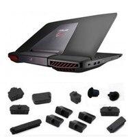 Laptop Silikon stecker port abdeckung Für ASUS G751 G751JY G751JL G751JT G751JM G750 G750J G750JH G750JW G750JZ G750JS G75 G75VX g75VW|Laptop-Taschen & Koffer|Computer und Büro -