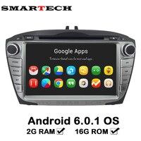 Autoradio 2 Din 8 Inch Android 6 Car DVD For Hyunda IX35 Tucson 2009 2015 Car