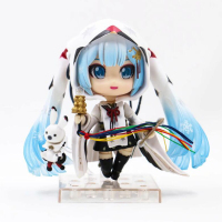 Hatsune Miku anime model action toys figure 15cm Movable nendoroid figures cartoon toy Christmas gift with box F7248