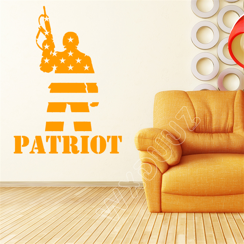 Buy patriots wall decal and get free shipping on AliExpress.com