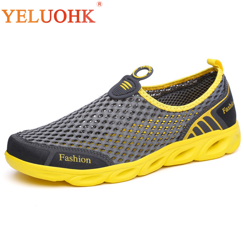 39-45 Zapatos casuales respirables 2018 Hombres Zapatos de verano - Zapatos de hombre