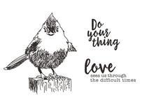 Sentiment bird love Transparent Clear Silicone  Stamp Seal  DIY Scrapbooking photo Album Decorative
