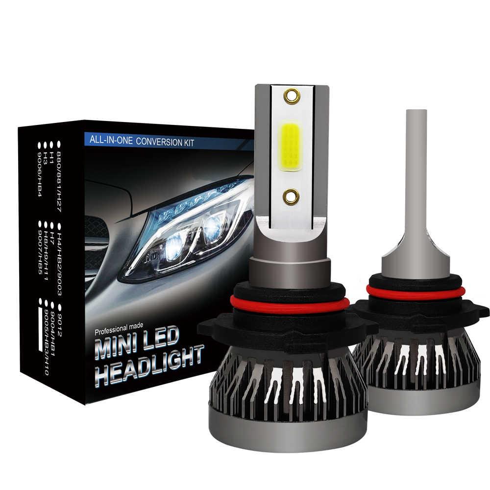 2pcs MINI1 Car LED Headlight H4 HiLo Beam LED H11 9005 9006 36W 6000LM Auto Headlight Bulb Lamp Fog Light