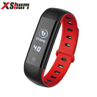 XShum 101 Smart Bracelet Bluetooth Heart Rate Monitor Smart Wristband Fitness Tracker Sport Wearable Devices For IOS Android