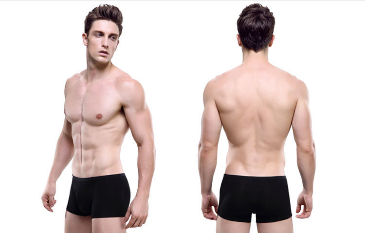 1pcs lot new mens underwear boxer shorts breathable waist
