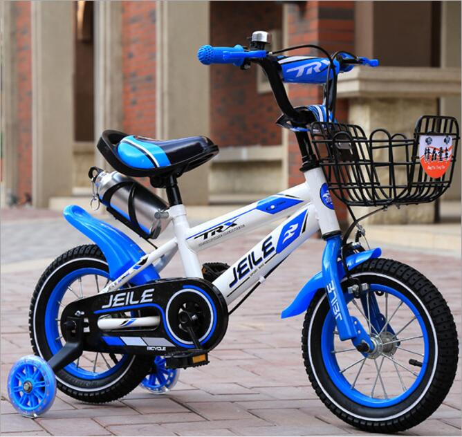 Childrens bike 16 inch child baby carriage 14 inch baby 2-3-6 years old men and women 12,18 inch sports car baby carriage flash